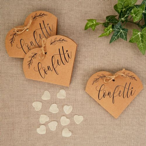 Hearts and Krafts Confetti 20pk